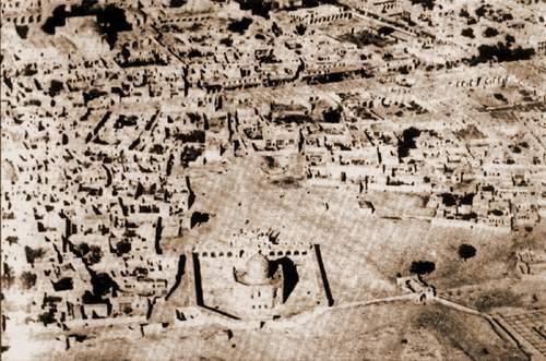 عکس هوایی از شهر قزوین/ 1299 خورشیدی