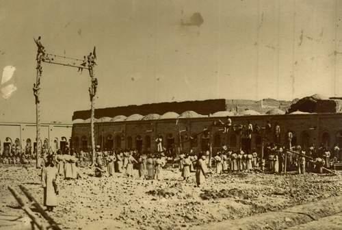 تمرین های نظامی در دوره قاجاریه