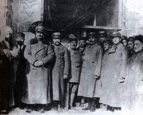 رضا خان در کربلا