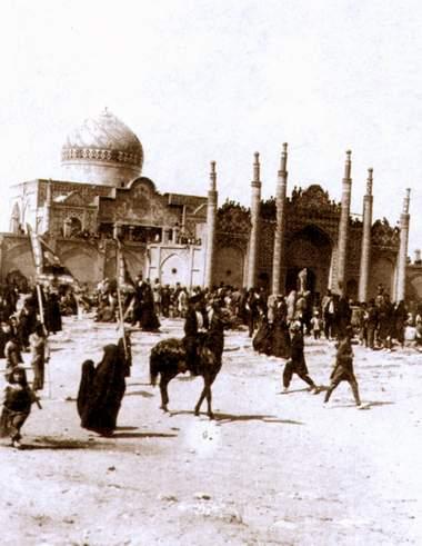 ققنوس - عزاداری حسینی در قزوین