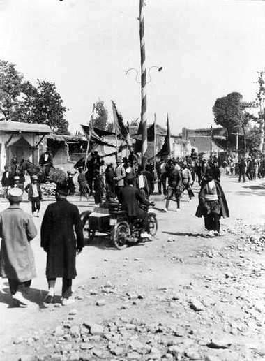 ققنوس- روز عاشورا - خ سپه قزوین
